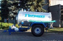 Цистерна за течен тор Meprozet - Трактор