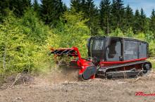 Самоходна верижна машина за горски терени AHWI Raptor 300 - Трактор
