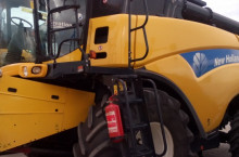 New Holland CR 9080 Двуроторен комбайн - Трактор