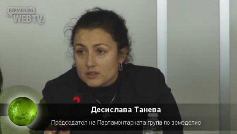 Десислава Танева: МФ бави акциза на горивата за земеделие