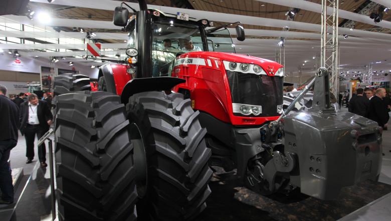 Massey Ferguson показа най-мощния си трактор, правен до сега