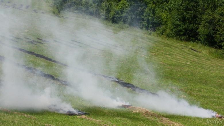 Старта на жътвата започна с пожар в Новозагорско