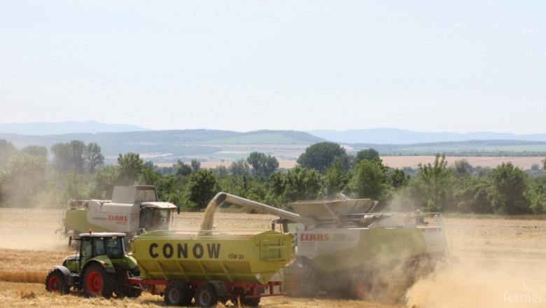 Жътвата на пшеница и ечемик в Старозагорско закъснява