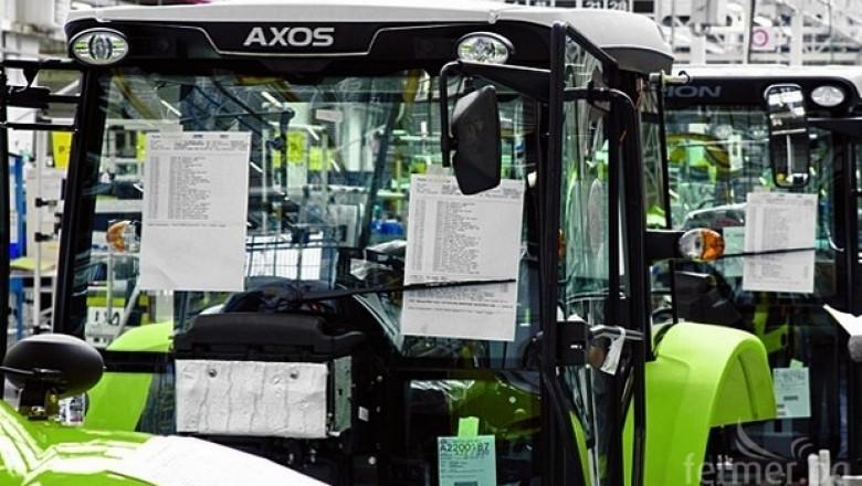Claas произведе 100 000-я си трактор