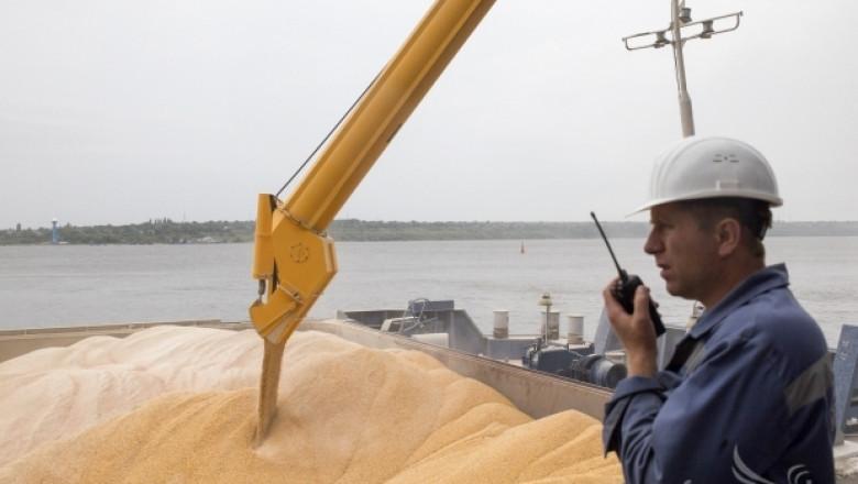 Нов мащабен износ на българска пшеница през Румъния за Египет