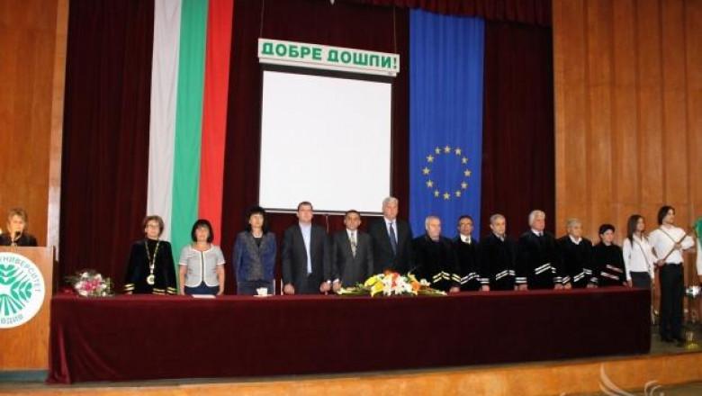 Явор Гечев откри академичната година в Аграрния университет-Пловдив