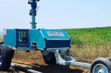 IRRIFORCE Set - готова мобилна поливна система за 55 дка - Трактор