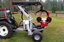 Харвестър HYPRO 755 НB с колесар и кран 7,5 м - Трактор