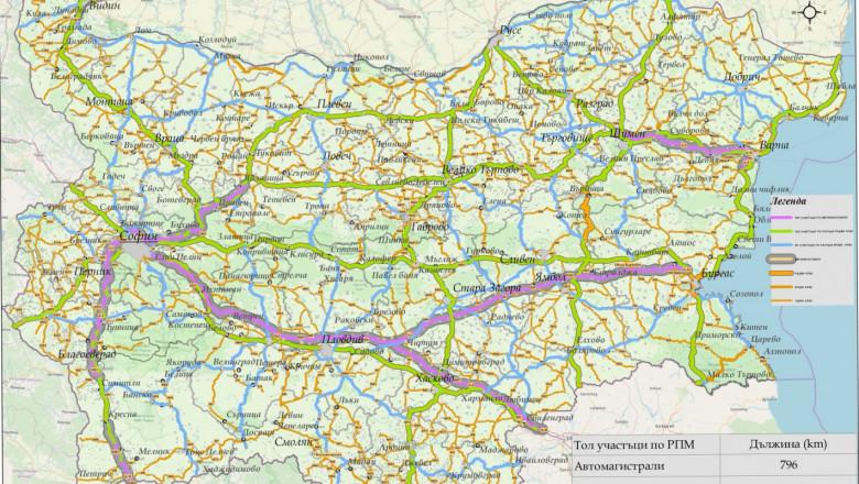 Фермери, вижте за кои пътища ще се плащат тол такси за камионите