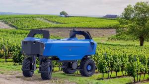Универсален робот за лозари прави работата на полето песен