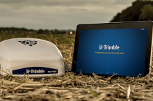 Trimble GFX-750 - Трактор