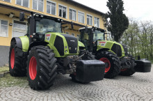 Claas AXION 850 - 2 БРОЯ CEBIS и CIS ЛИЗИНГ - Трактор