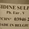 Хинидин сулфат /Quinidine sulphate, Хинин/ чист 99 % на прах - Агро Борса