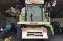 Claas МEGA 204 - Трактор