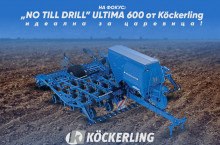 No Till сеялка Köckerling Ultima 600 - Трактор