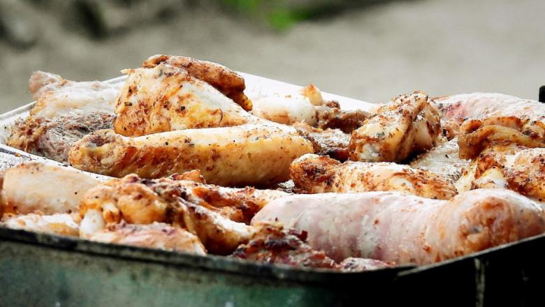 Унищожават близо 10 тона пилешко месо със салмонела