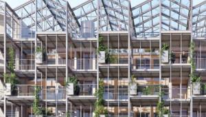 Строят жилищен блок оранжерия