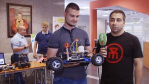 Родни IT специалисти вдъхват живот на AgRUbot - бюджетен робот за прецизно земеделие